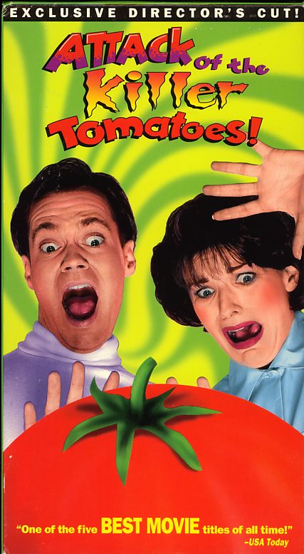 Attack of the Killer Tomatoes on VHS
