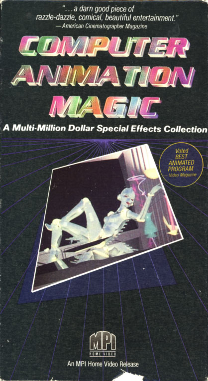 Computer Animation Magic on VHS. Directed by Geoffrey de Valois and Steve Michelson. 1986.