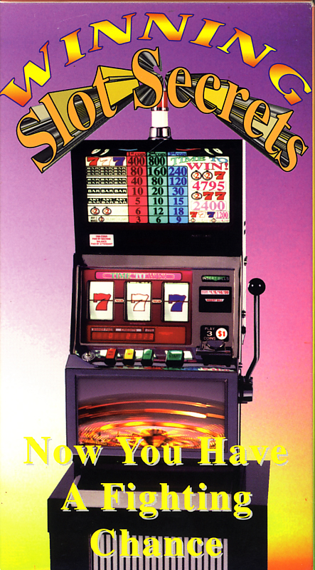 Winning Slot Secrets on VHS. Starring David Wilhite. 1988.