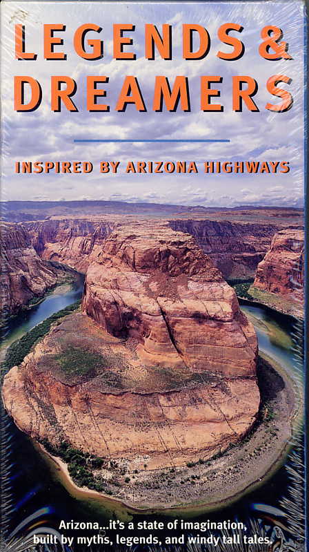 Legends & Dreamers Inspired by Arizona Highways on VHS. Starring Jerry Jacka, Don Collier, Marshal Trimble. Directed by David Majure, Michael Tobias. 1998.