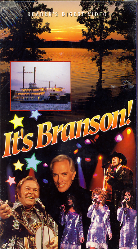 It's Branson! on VHS. Sealed. Directed by Jonathan Donald. 1999.