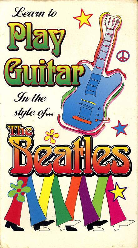 Learn To Play Guitar In The Style Of... The Beatles aka Guitar Method in the Style of the Beatles on VHS video. Music Video Products, aka MVP Inc. Possibly featuring Curt Mitchell. 1996.